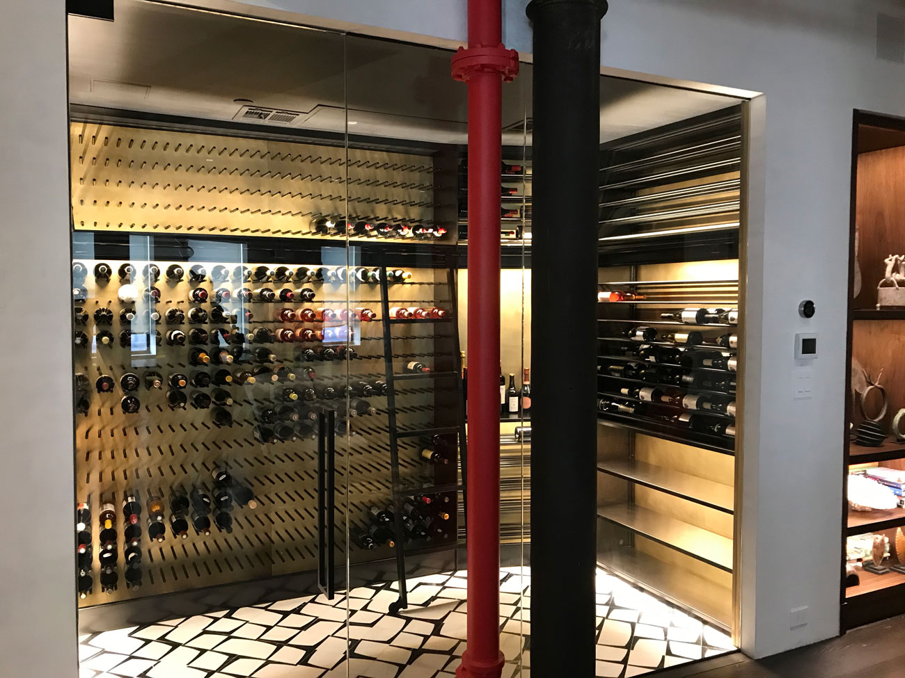 Custom Wine Cellar Vault