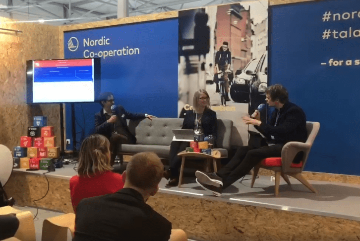 The Nordic countries had a joint pavilion at the UN climate negotiations in Katowice, Poland, on December 2018. During the heading Sustainable Development the Nordic Way, the Nordic Pavilion highlighted and discussed Nordic Climate Solutions and challenges, and draw parallels with the global Sustainable Development Goals.