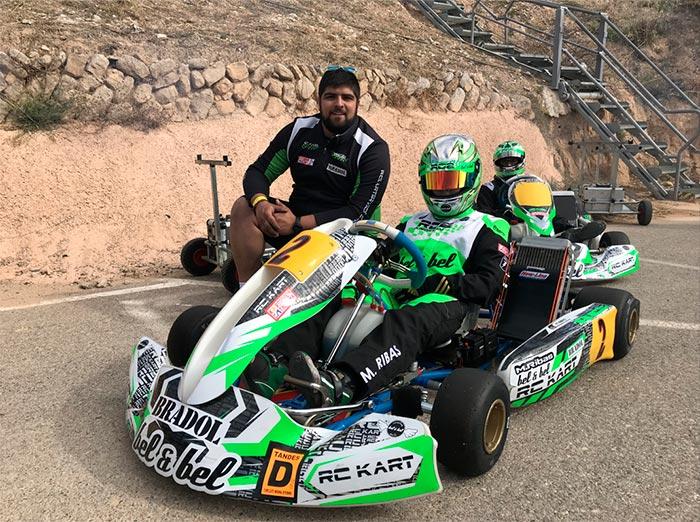 RC2KART Marc Ribas y Christian en competición