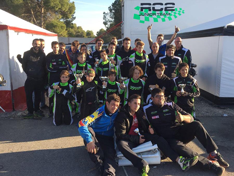 RC2KART escuela de karting