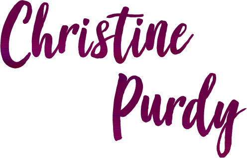 Christine Purdy Art Website logo - comissions open