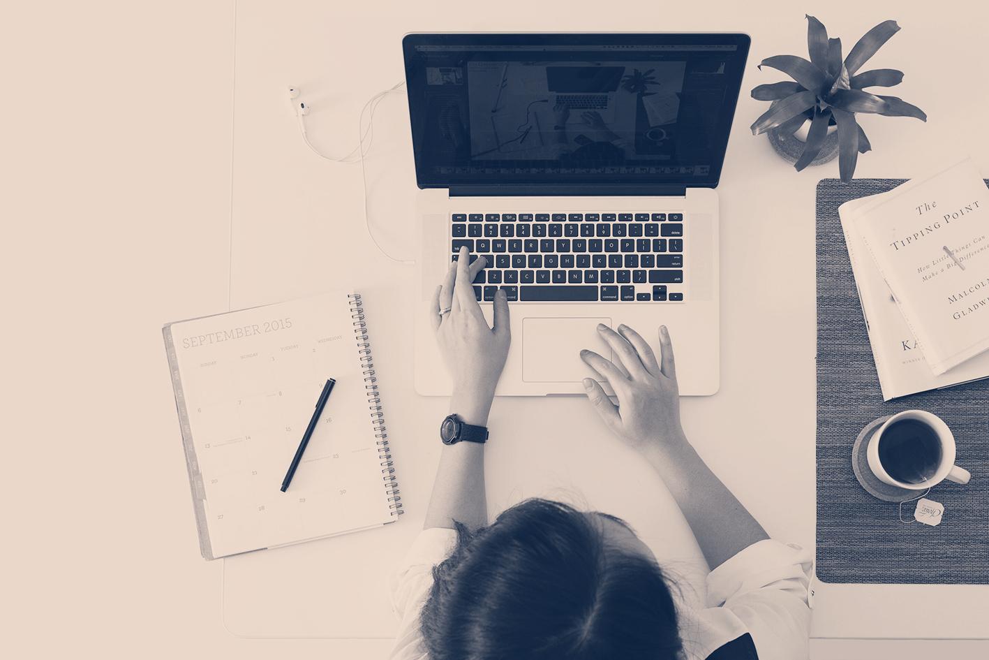 Estudando on line