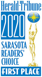 Herald-Tribune 2020 Sarasota Readers Choice First Place