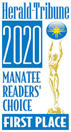 Herald-Tribune 2020 Manatee Readers Choice First Place