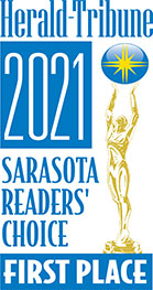 Herald-Tribune 2021 Sarasota Readers Choice First Place