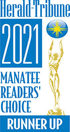 Herald-Tribune 2021 Manatee Readers Choice Runner Up