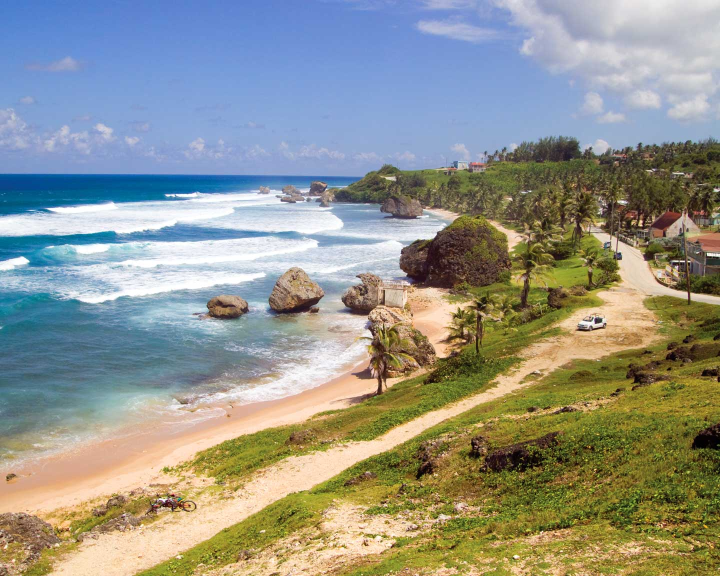 The view of Tent Bay in Bathsheba