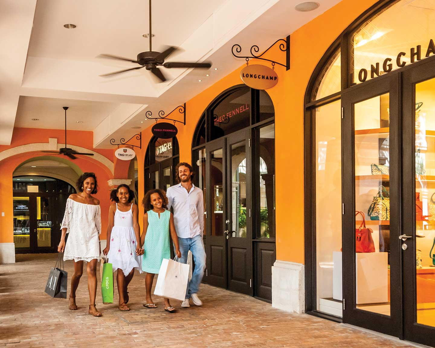 Shopping at Limegrove Lifestyle Centre