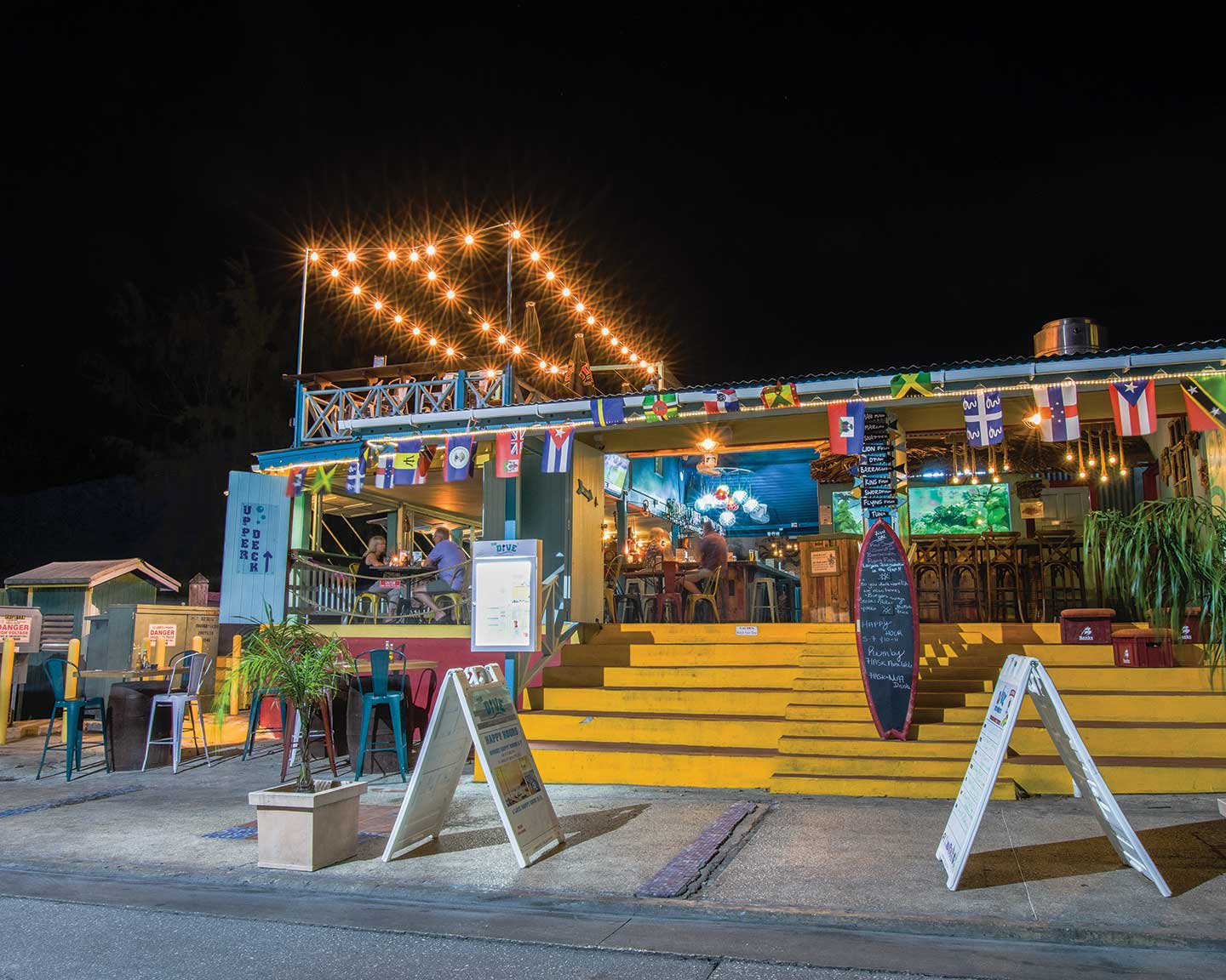 Nightlife and night limes in Barbados