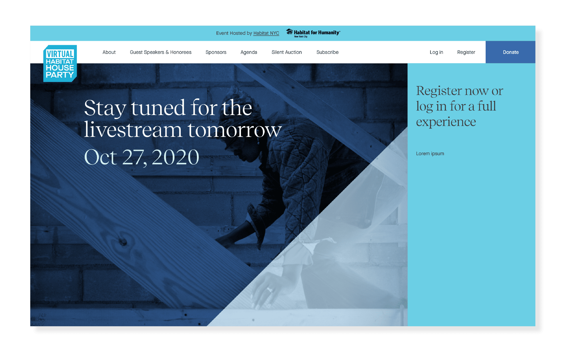 Virtual Habitat House Party 2020