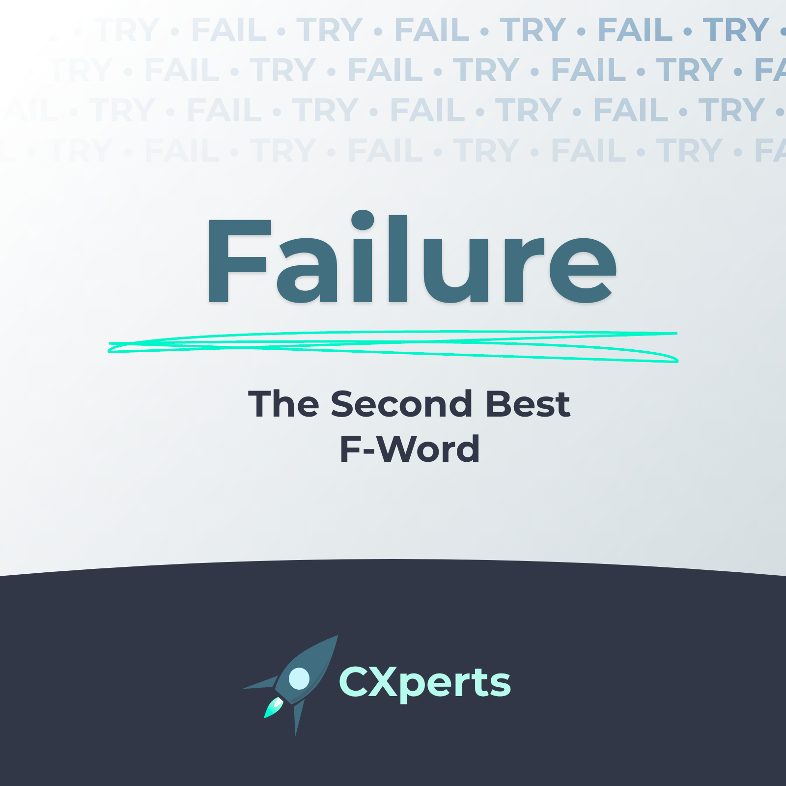 Failure: The Second Best F-Word in User Experience