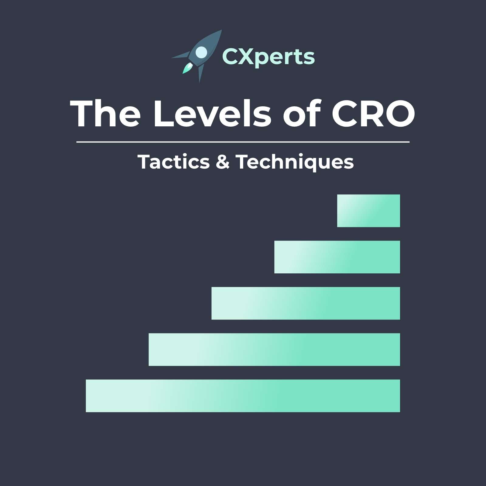 The 5 Levels of CRO - Digital Experimentation Maturity Model