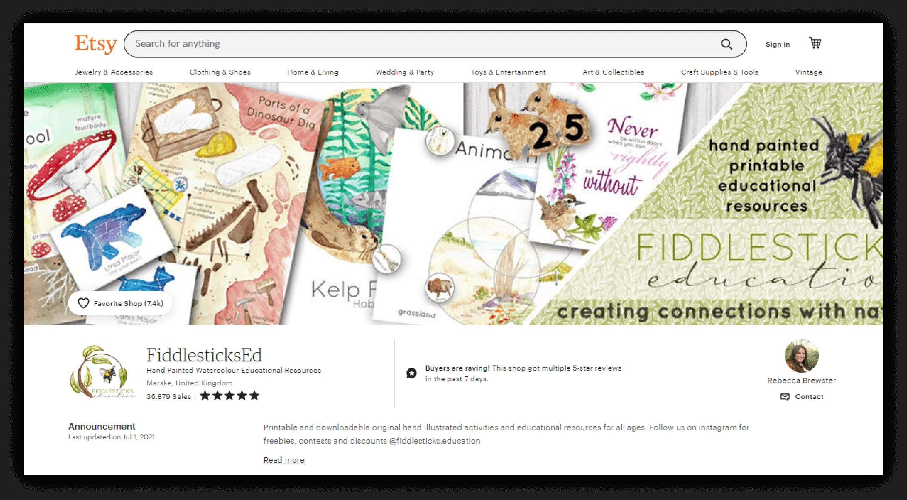 Fiddlesticks Education