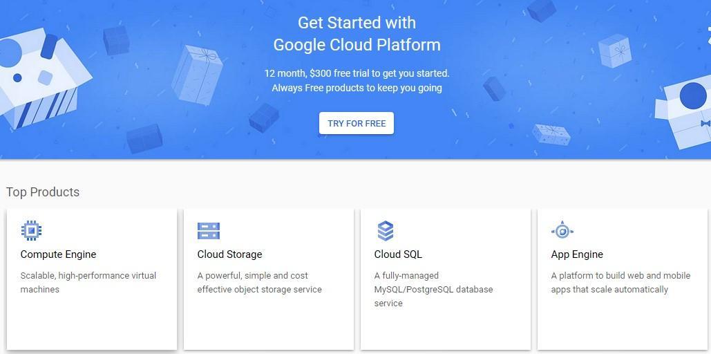Google Cloud Cloud Hosting