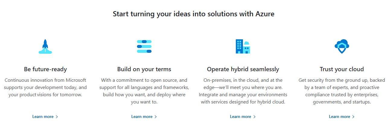 Azure Cloud Hosting