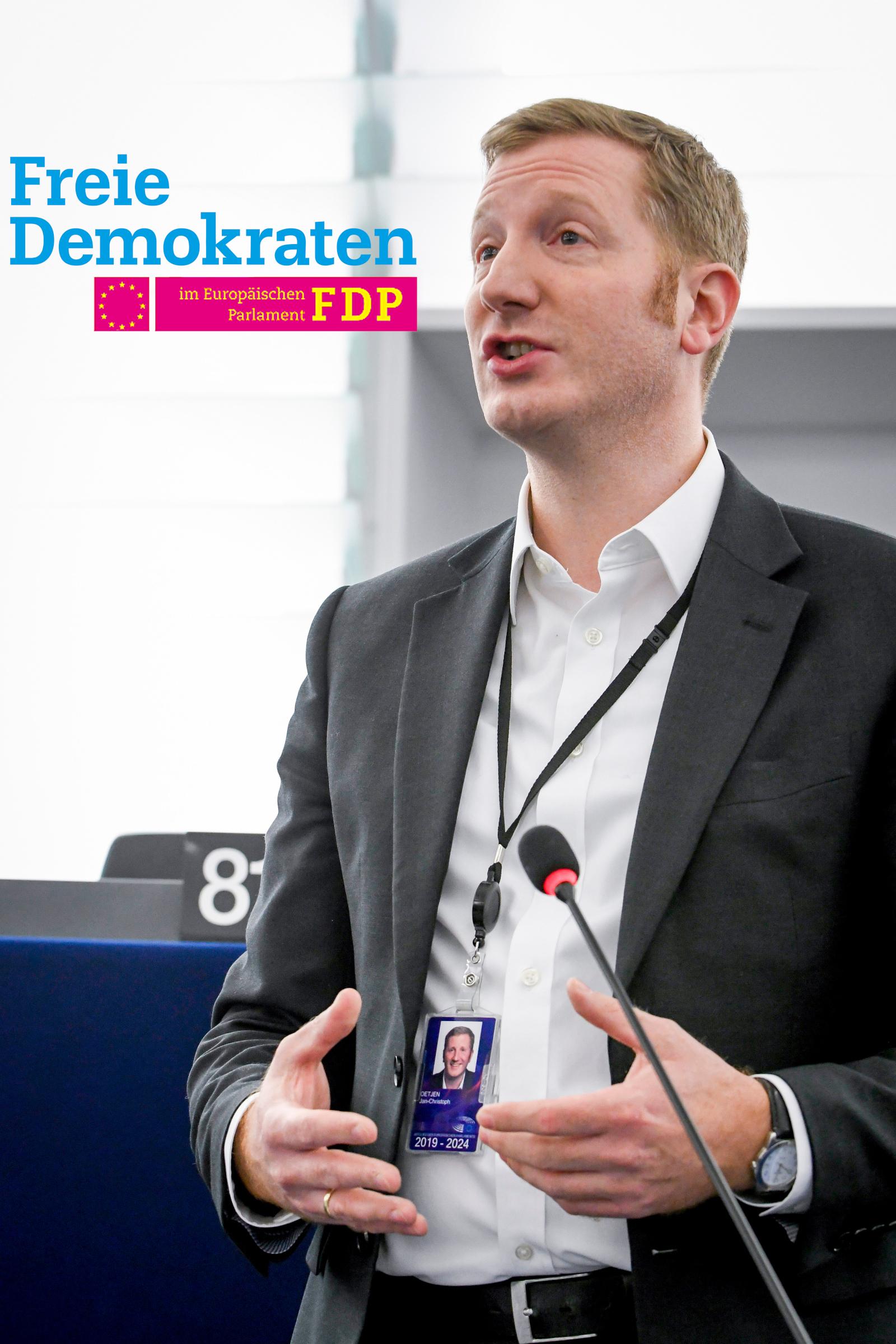 FDP: Wichtig ist, dass wir Europäer in Krisenzeiten zusammenhalten