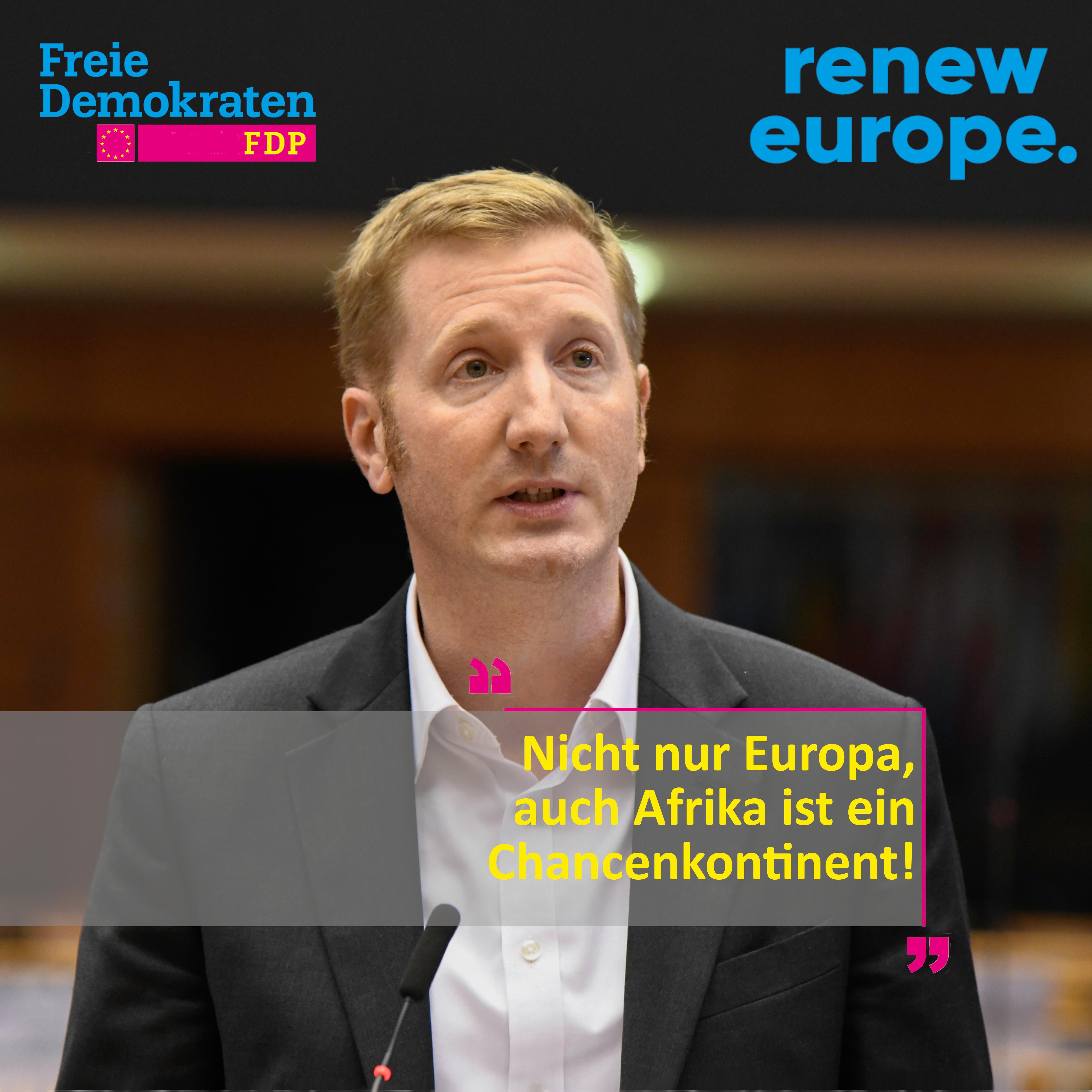 Nicht nur Europa, auch Afrika ist ein Chancenkontinent!