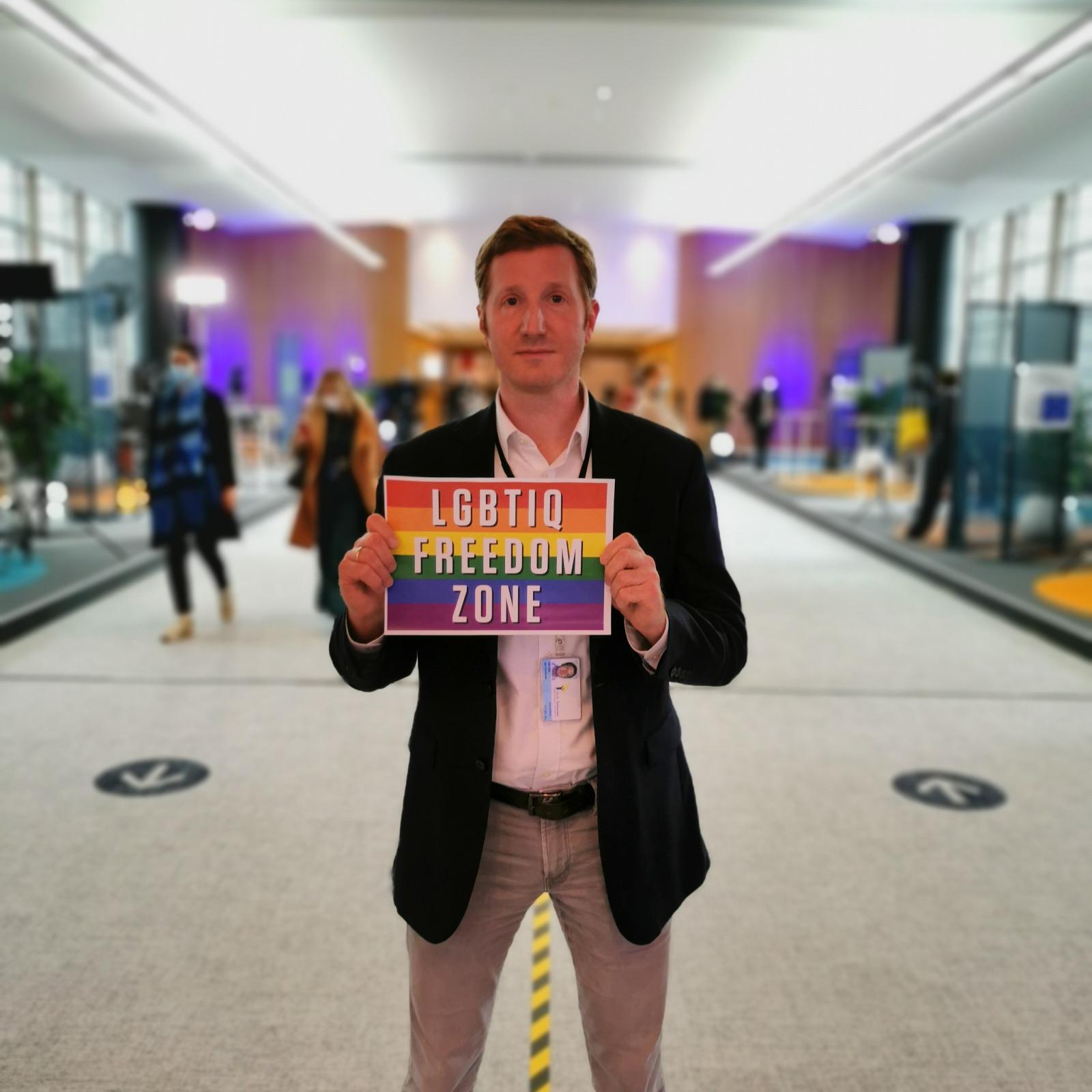 LGBTIQ-Freedom Zone – Europa bleibt bunt