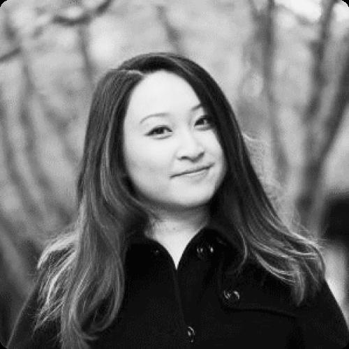 Kanjun Qiu black and white headshot