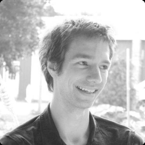 Josh Albrecht black and white headshot