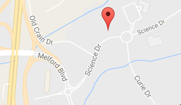 Image of a map to the location of Vargas Dental Associates in Bowie, MD