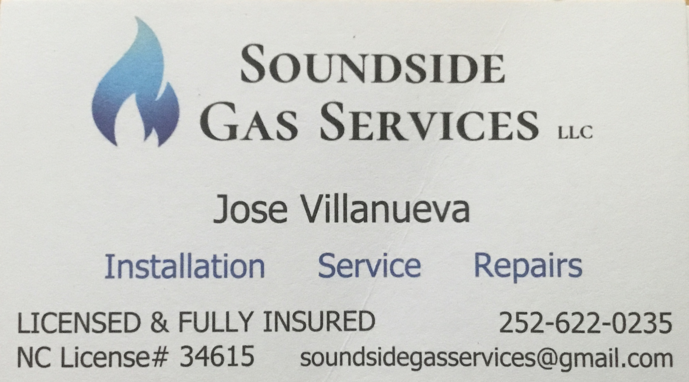 Soundside Gas Services LLC