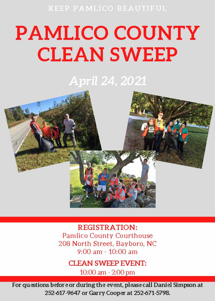 PAMLICO COUNTY CLEAN SWEEP EVENT