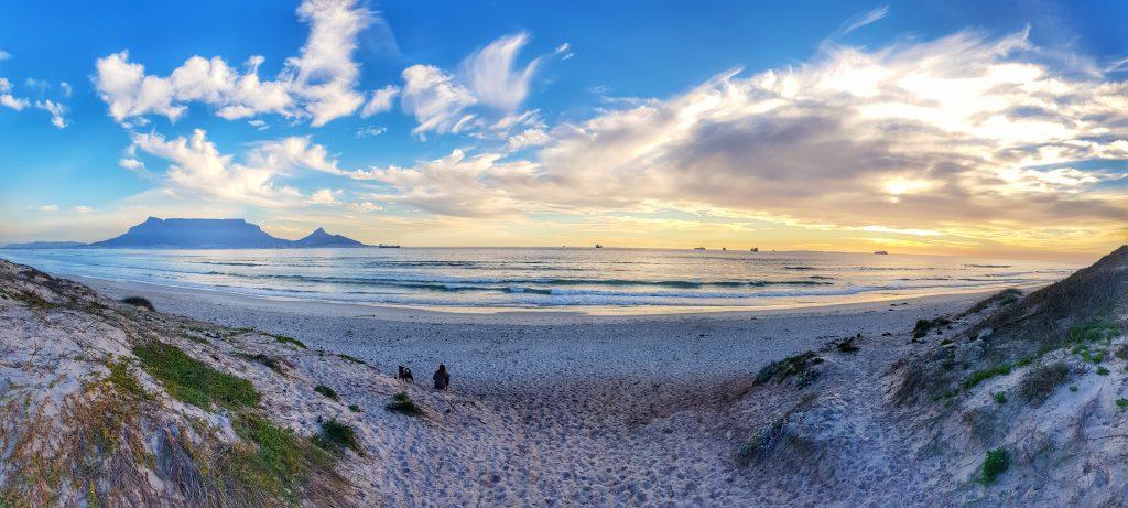Sunsets overlooking Table Mountain - Bridging Gaps