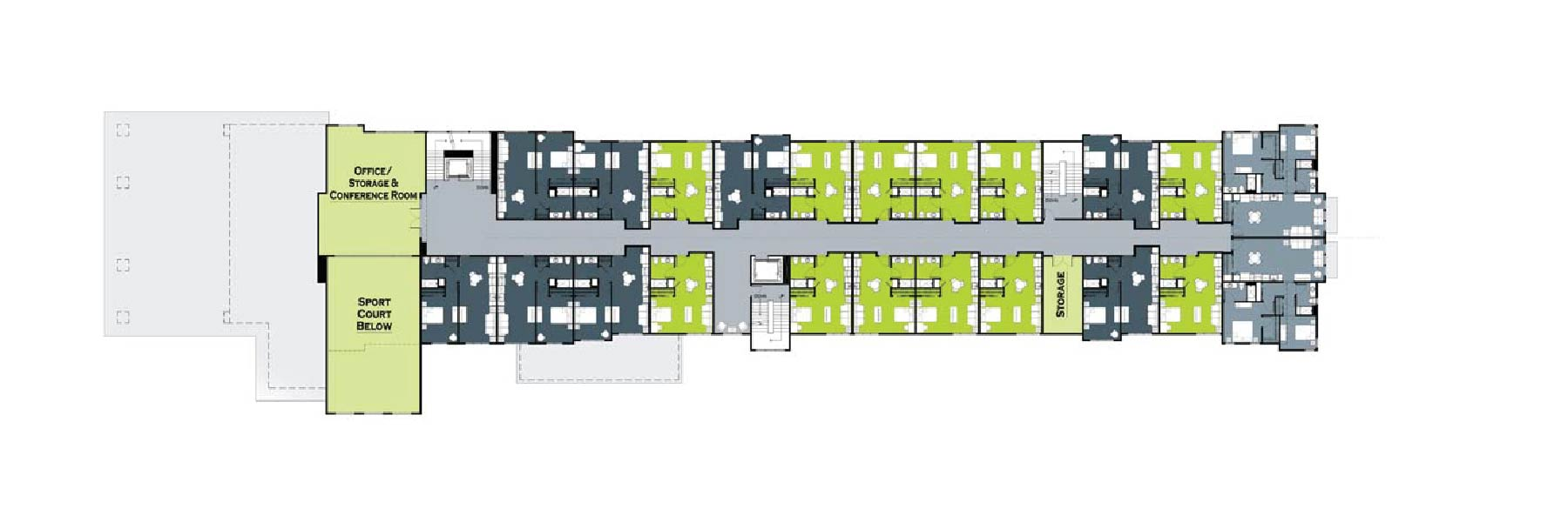 Trailhead Level 2 Floor Plans
