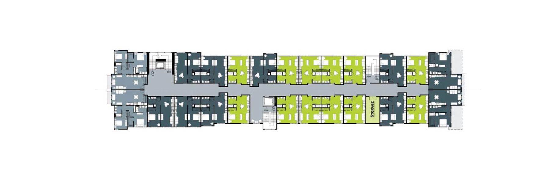 Trailhead Level 3 and 4 Floor Plans