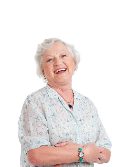 Cropped Photo of Active Senior
