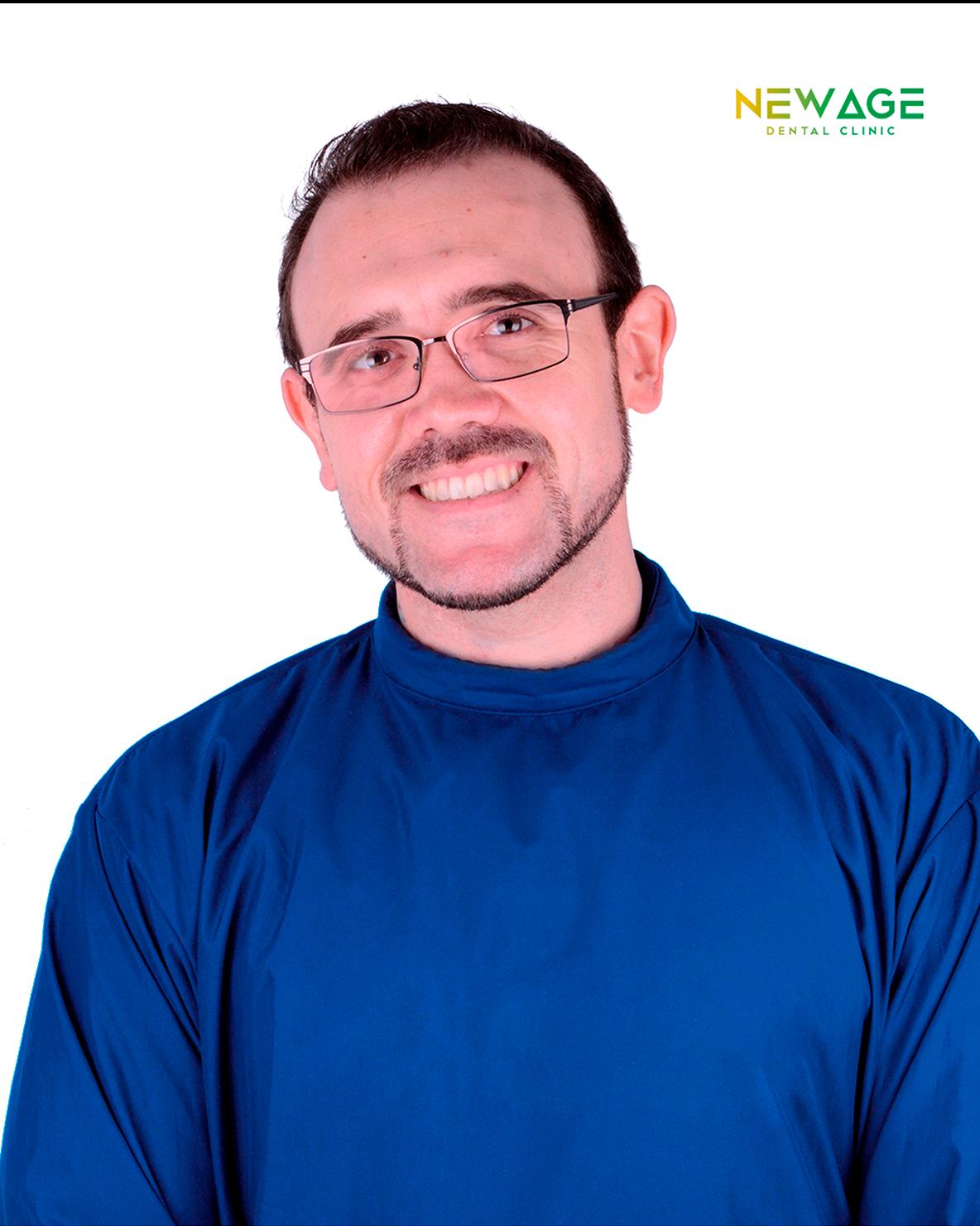 Dr. Roberto Rivera, Periodontics Specialist at New Age Dental Clinic in Tijuana