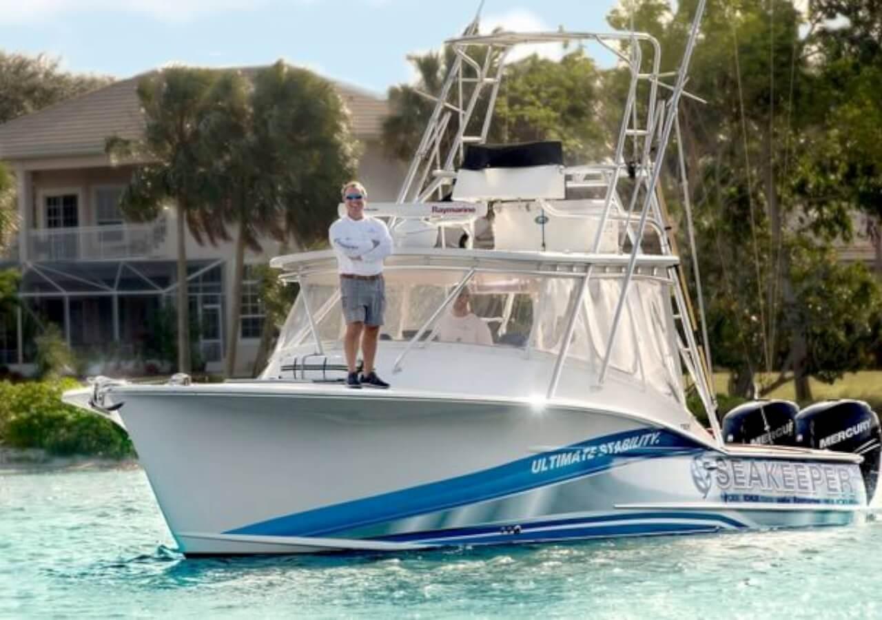 OBX 34 Express Sportfishing Boat