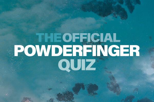 Powderfinger Quiz promo image featuring their album artwork for Odyssey Number 5