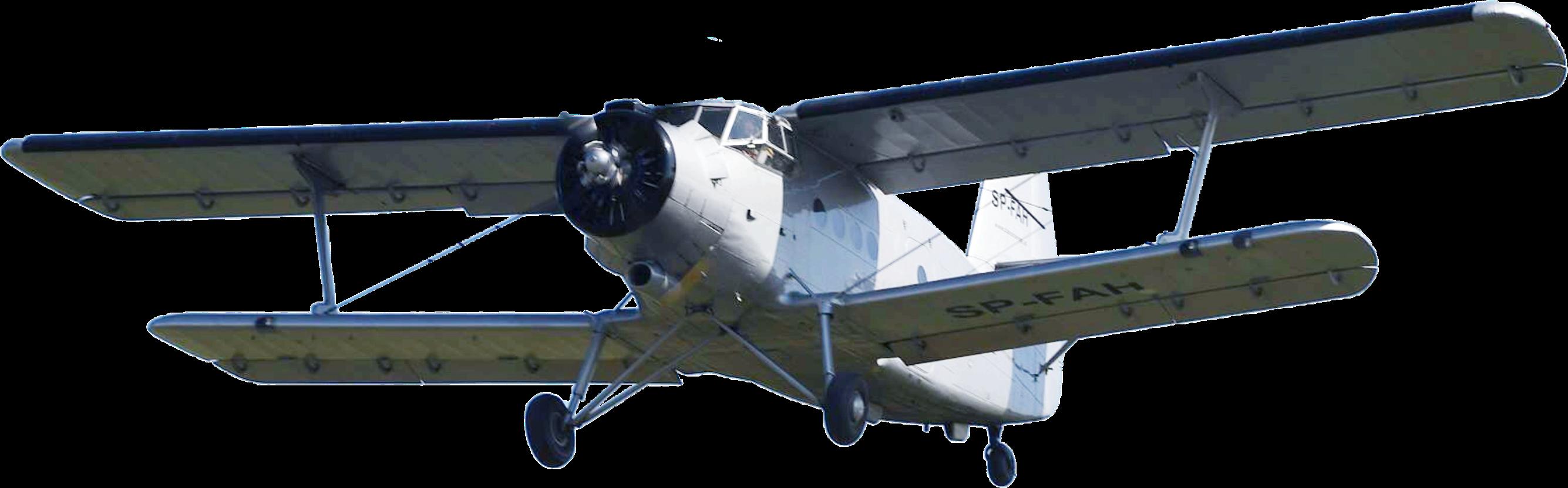 Unsere Antonov2 im Landeanflug als Hintergrundbild