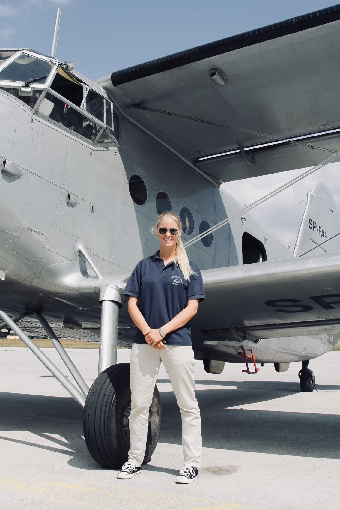 Bild zeigt Crewmitglied Bettina Führer
