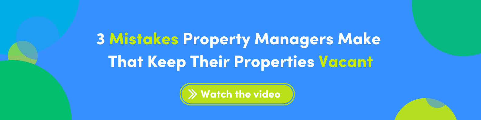 3 mistakes property managers make that keep their properties vacant webinar