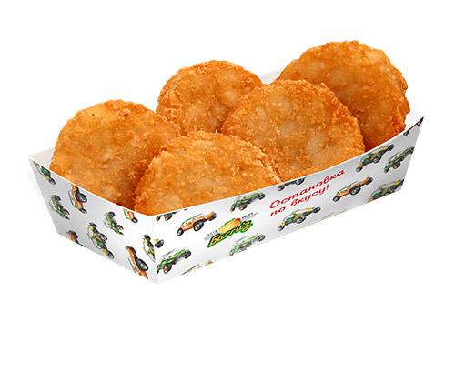 Картофельные Драники с Луком 5 шт.