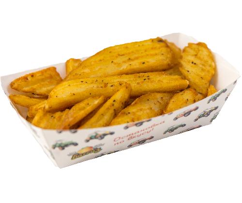 Картофель рифленый со специями