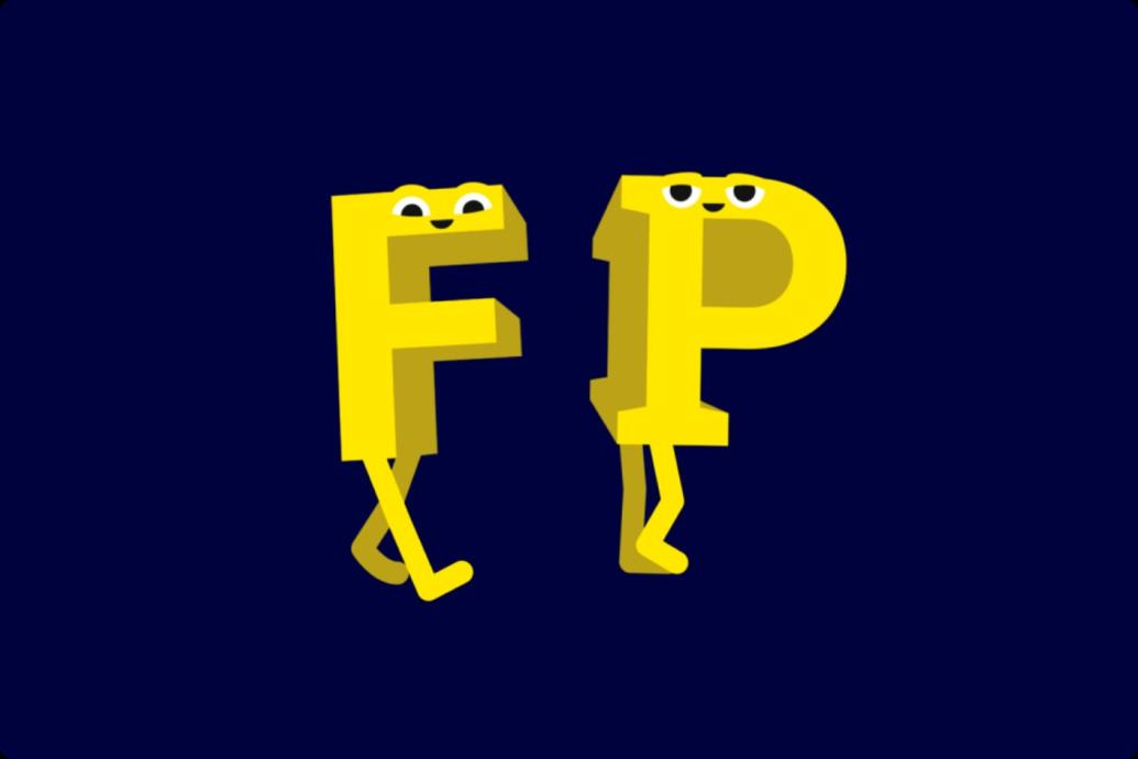 fontpair character logo