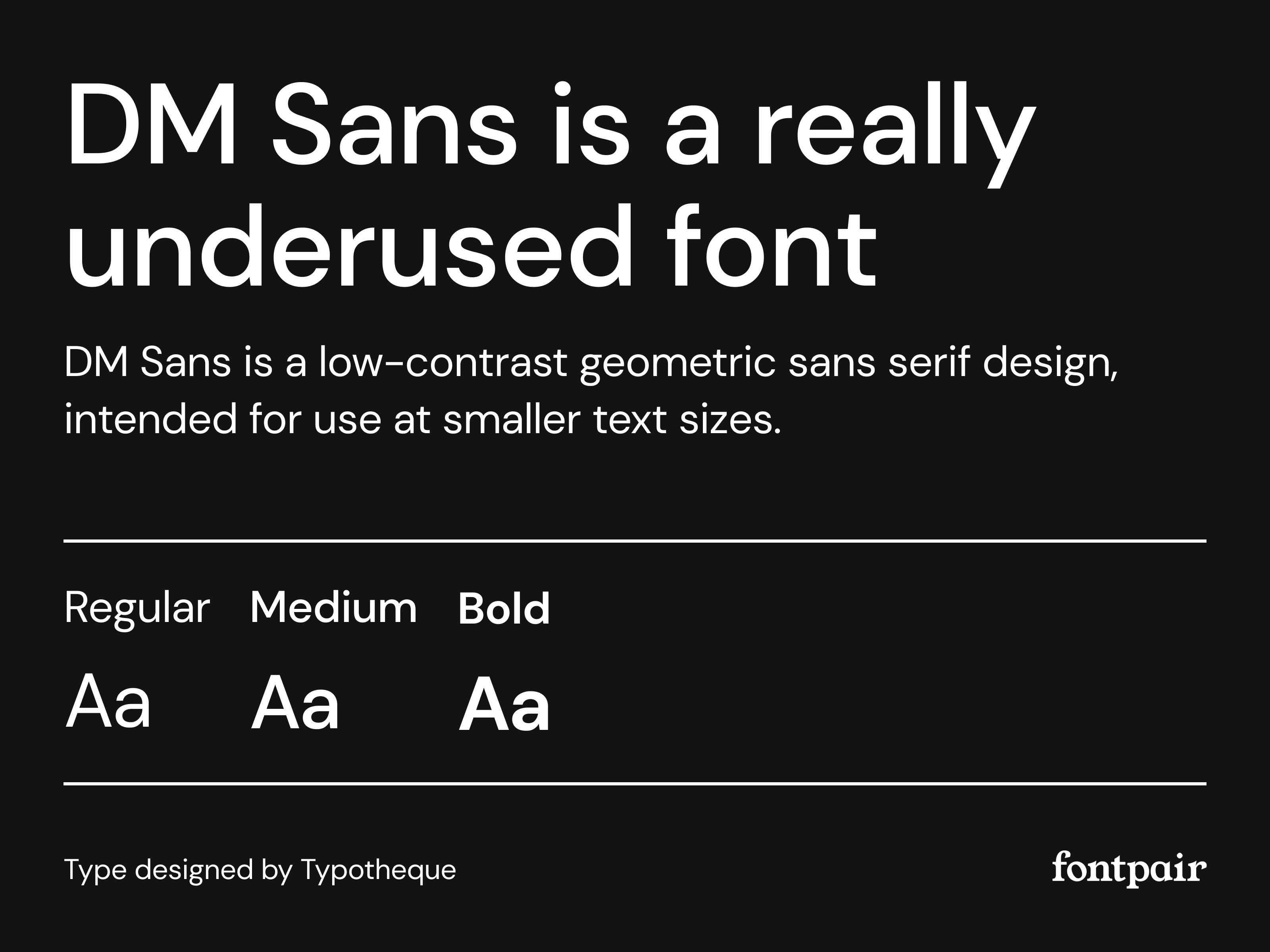 DM Sans