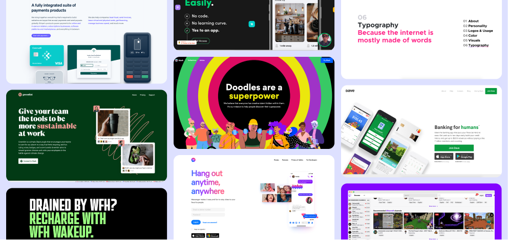 One way to highlight your marketing pages most important points is to color that copy with different color text. It's simple but it works! Check it out with the examples below...
