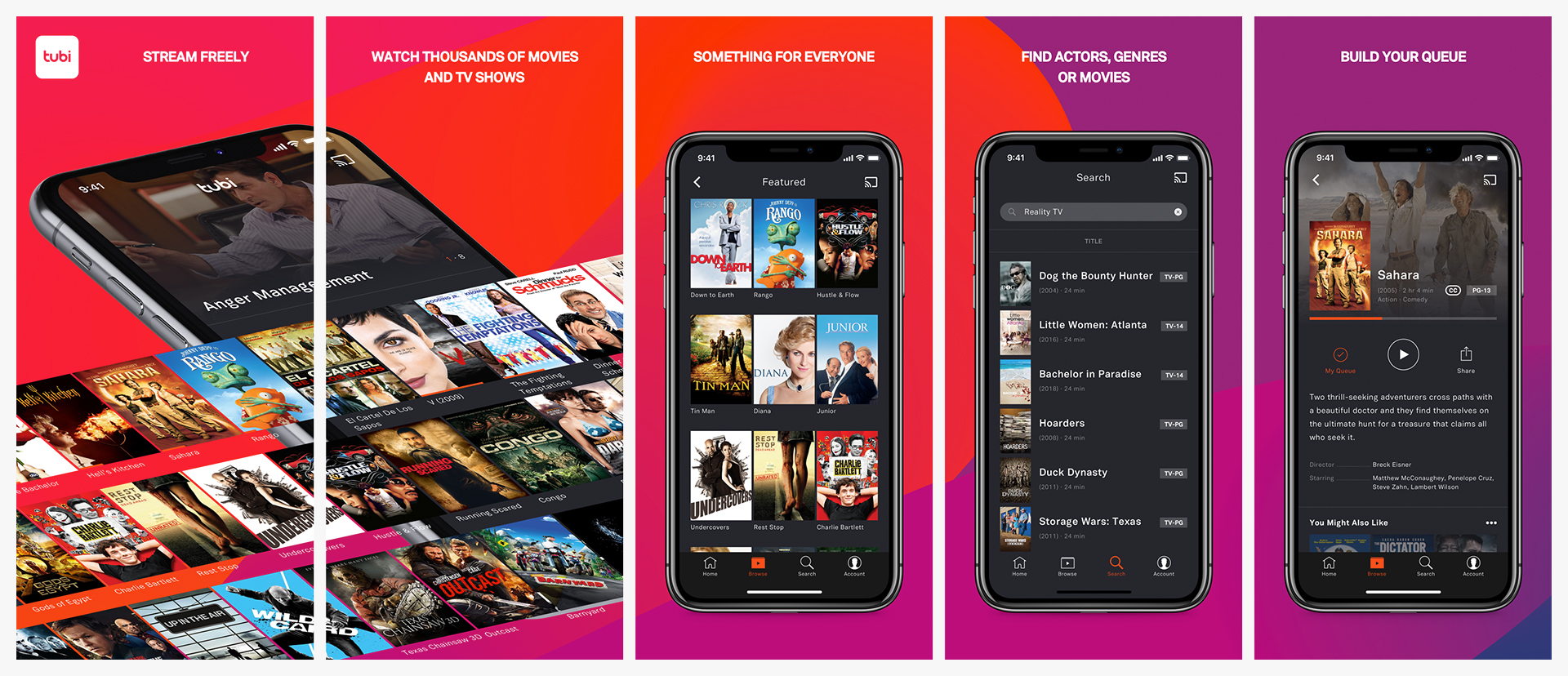 iOS App Store preview content