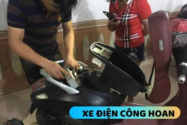 sửa xe điện giá rẻ ở Hoàng Mai