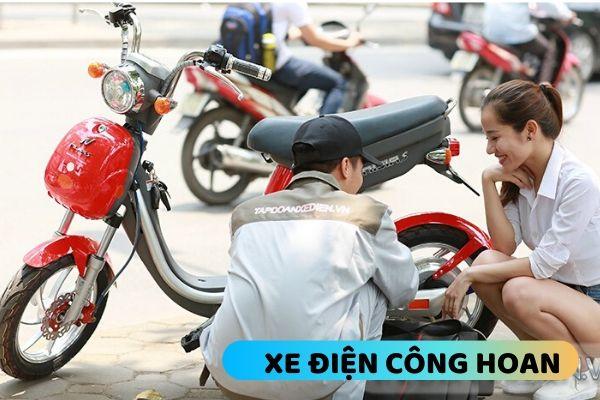 Sửa xe đạp điện tại thanh trì