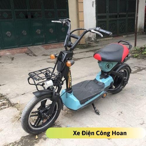 Xe đạp điện bò điên cũ
