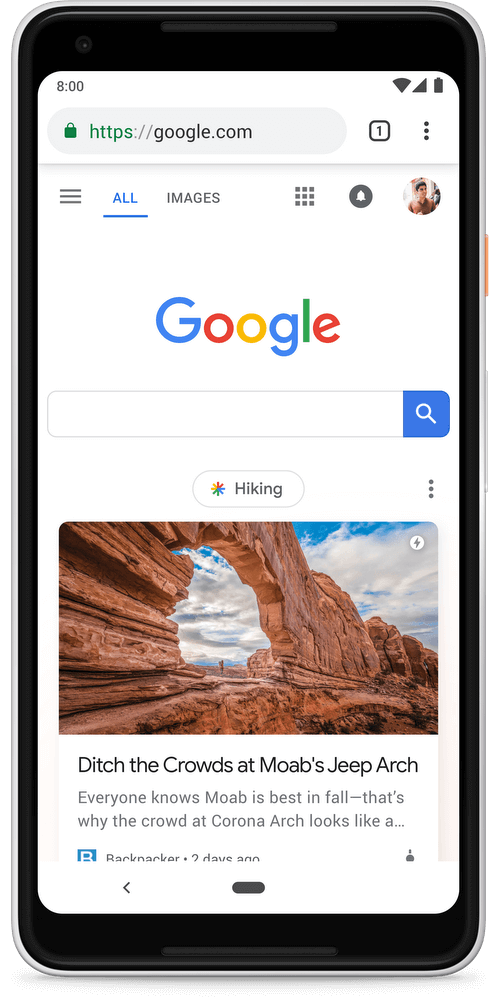 Google Discover for content publishers