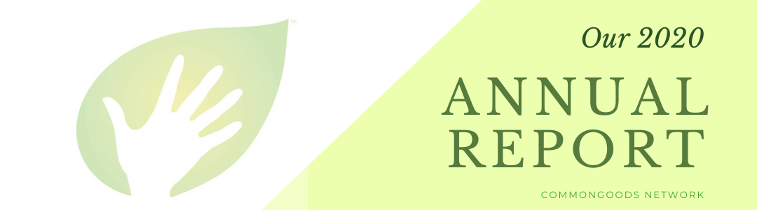 annual report 2020 banner
