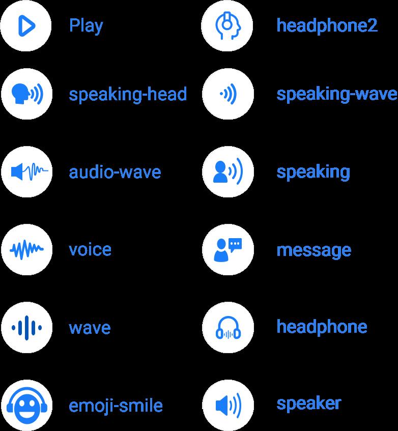 icon names