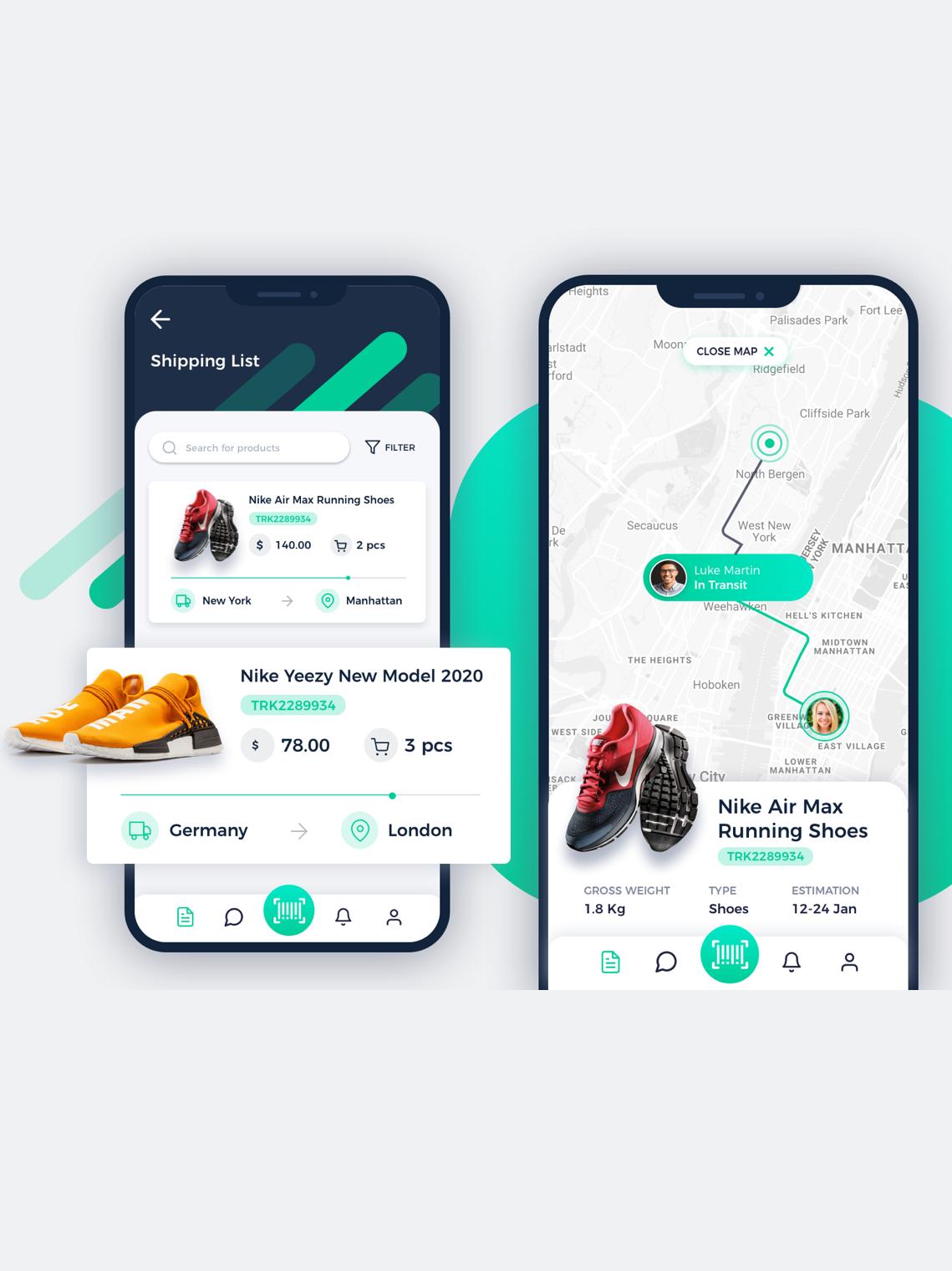 ecommerce mobile app design